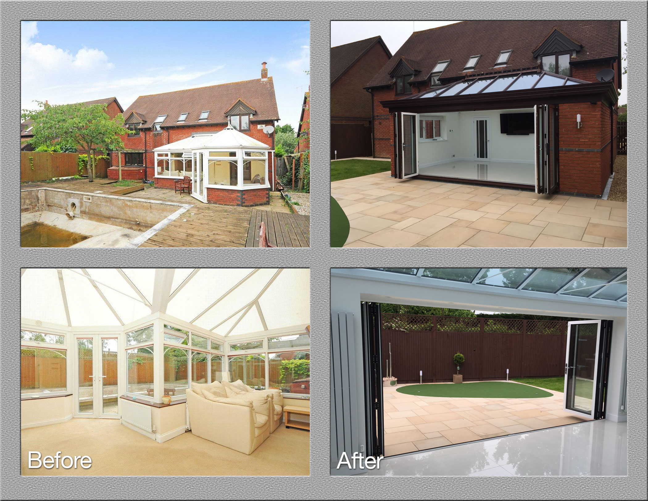 Orangery Before And After