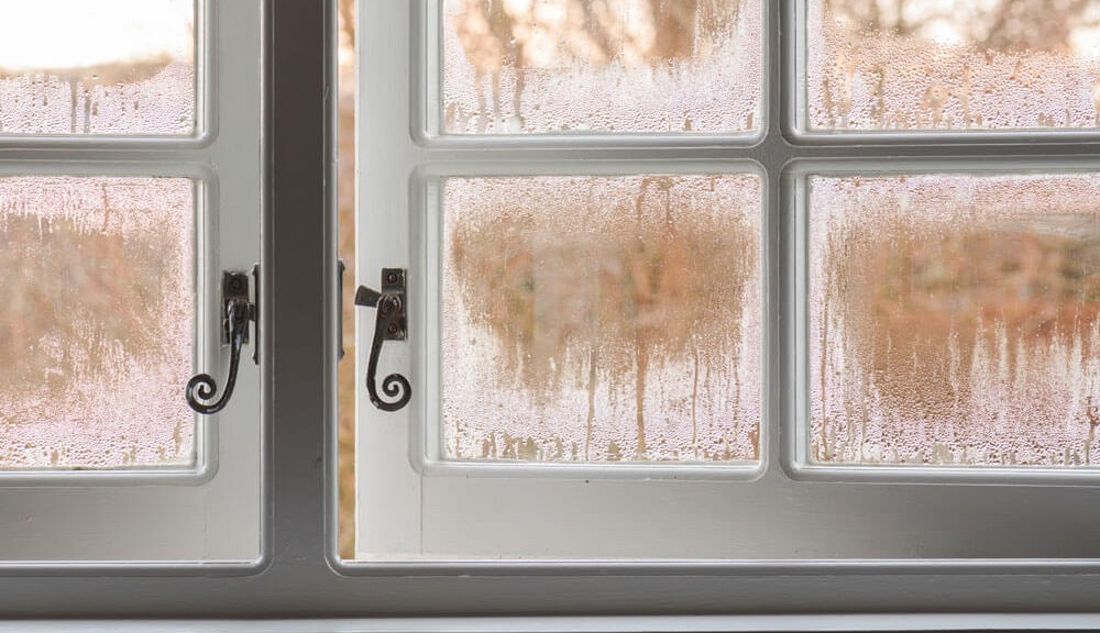 Window with Condensation